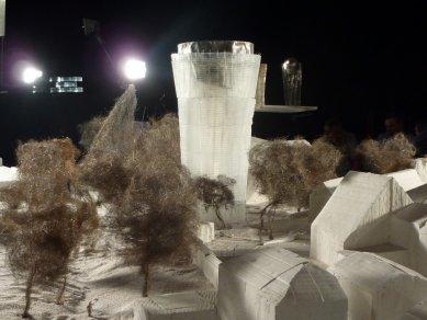 Peter Zumthor představil novou městskou věž v Isny - Model města Isny - foto: archiv Happy Materials