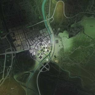 Třetí místo v urbanistické soutěži na revitalizaci území Černá louka - foto: Peter Stec