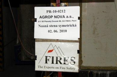 Informace o požární odolnosti dřevěných konstrukcí NOVATOP - foto: archiv NOVATOP SYSTEM