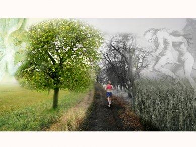 Ida Čapounová - Venkov a krajina - Cesta okolo vsi