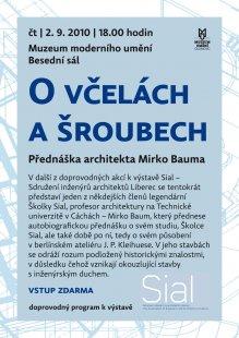 Pozvánka na přednášky M. Bauma a R. Šváchy v Olomouci