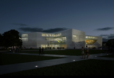 OMA zvítězila v soutěži na novou knihovnu ve francouzském Caen - foto: Office for Metropolitan Architecture