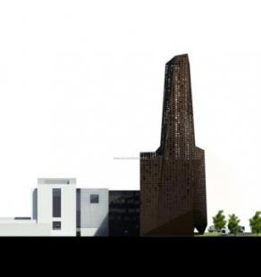 Projekt spalovny odpadu v Roskilde od Ericka van Egeraata - Soutěžní návrh - foto: © Designed by Erick van Egeraat