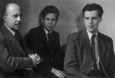 Architekt Jan Sokol - Jan, Václav a Jan Sokolovi - foto: Josef Sudek