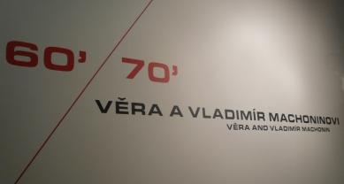 Výstava – Věra a Vladimír Machoninovi 60' / 70'