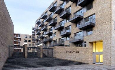 Superblok De Frontier v Groningen od Müller Reimann Architekten
