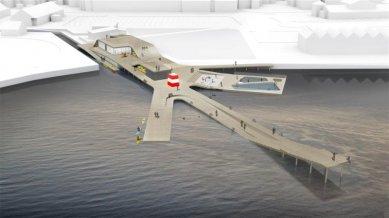 Vítězný projekt pobřežního koupaliště ve Faaborg od JDS - foto: JDS Architects
