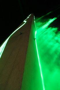 FA ČVUT Otevření / Opening - fotoreportáž ze čtvrteční slavnosti - Laser show - foto: Jan Hromádko