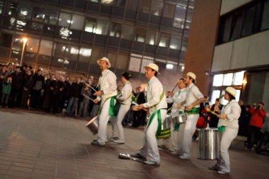 FA ČVUT Otevření / Opening - fotoreportáž ze čtvrteční slavnosti - Tamtam Orchestra - foto: Jan Hromádko
