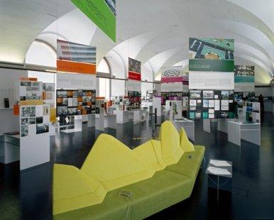 Vídeň: Architekturzentrum Wien - Stálá expozice Rakouská výstava ve 20. a 21. století - foto: Pez Hejduk