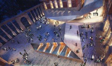 Amanda Levete vyhrála soutěž na dostavbu V&A muzea - foto: Amanda Levete Architects