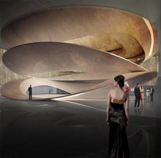 Koncertní sál ve Varšavě od Thomase Puchera - foto: Atelier Thomas Pucher