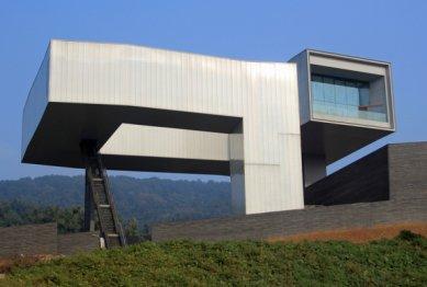 Muzeum umění a architektury v Nanjing od Stevena Holla - foto: Steven Holl Architects