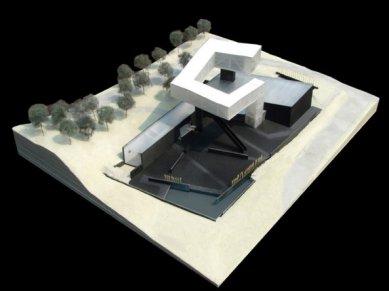 Muzeum umění a architektury v Nanjing od Stevena Holla - Model - foto: Steven Holl Architects