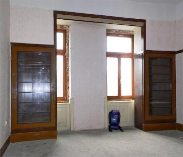 Památkář objevil unikátní interiér Adolfa Loose - foto: Karel Zoch, pracovník odboru památkové péče Magistrátu města Plzně